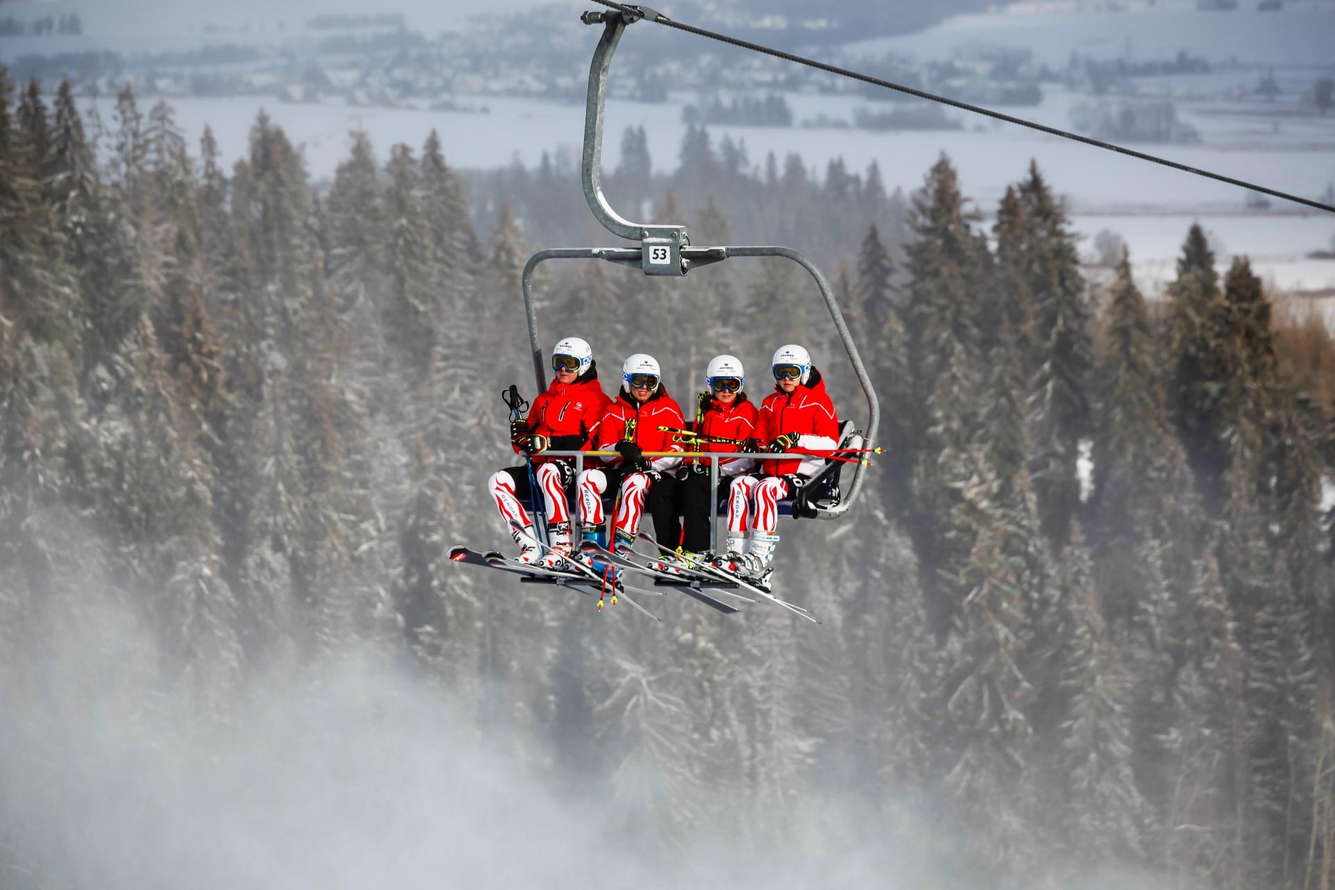 Zawody narciarskie Białka Tatrzańska