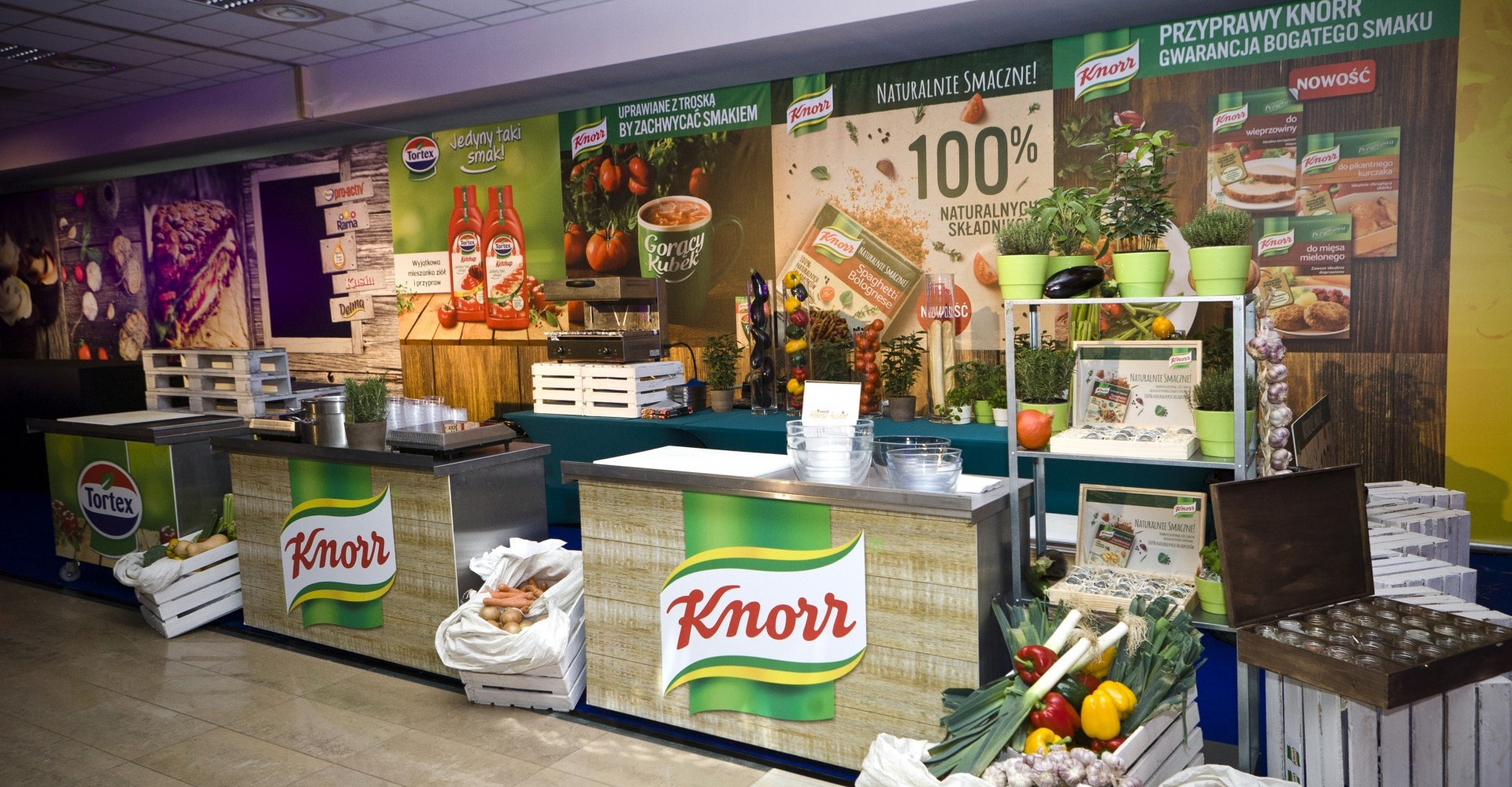Knorr, gotowanie na żywo