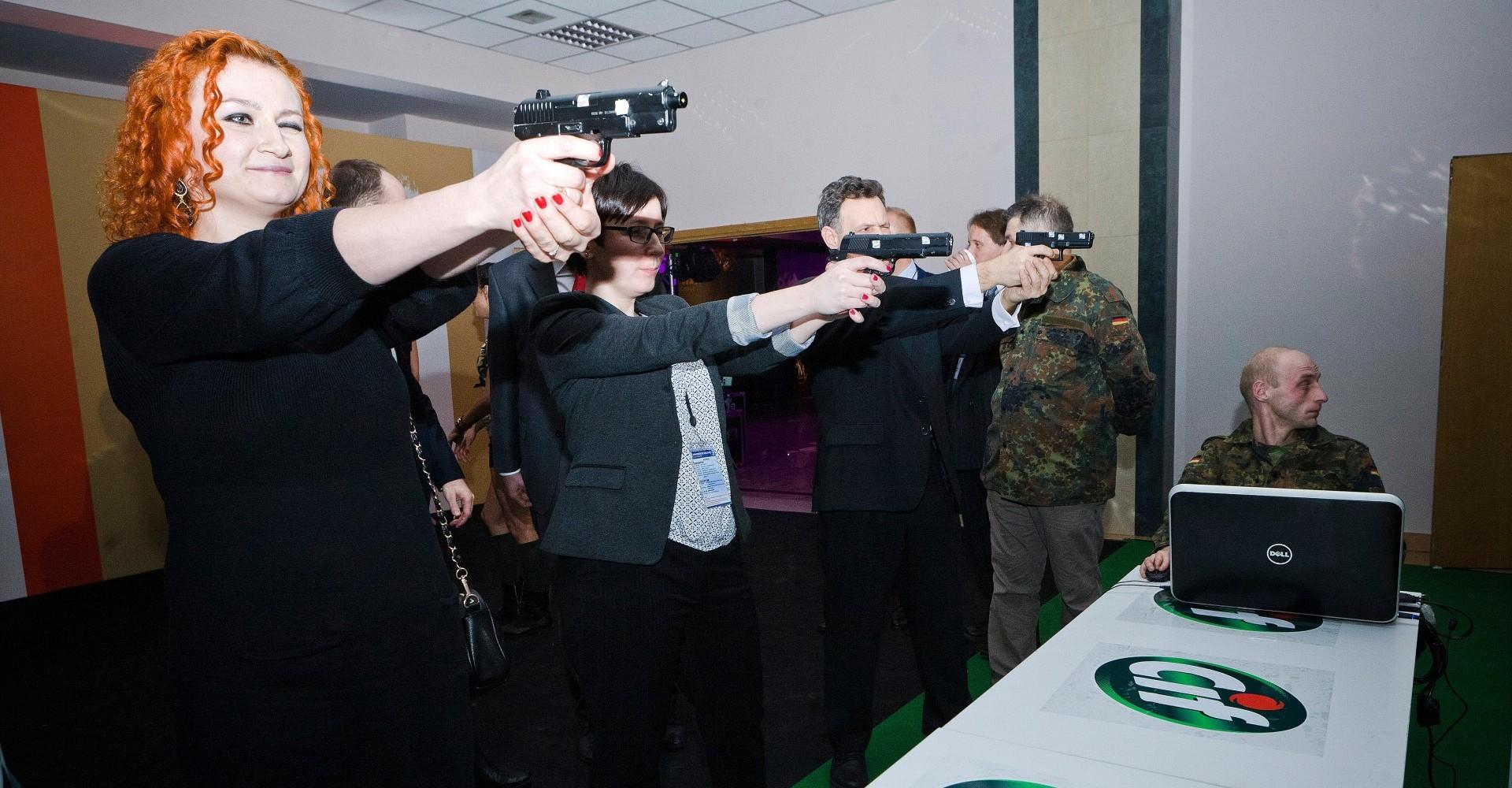 Cif strzelnica laserowa, atrakcje dla firm