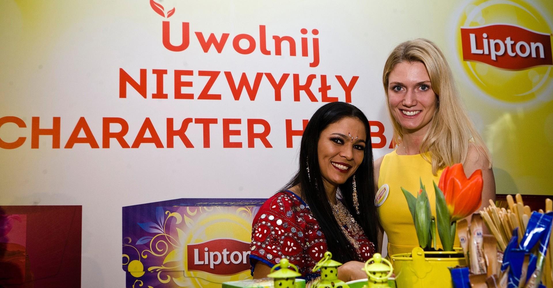 Herbaty Lipton, impreza firmowa